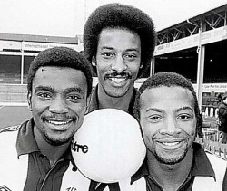 Brendon Batson, Laurie Cunningham and Cyril Regis