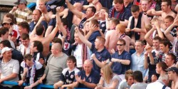 Raith Rovers supporters