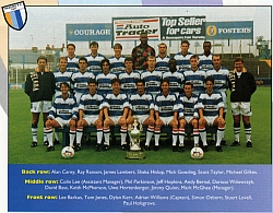 Reading FC - team photo 94-95 season