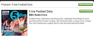 Five Live Football Daily
