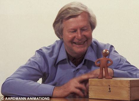 Tony Hart with Morph