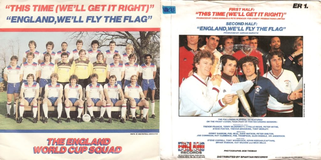England 1982 Squad - This Time We'll Get It Right