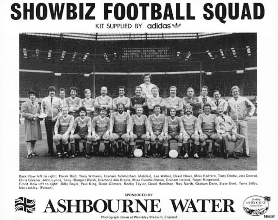 Showbiz XI at Wembley