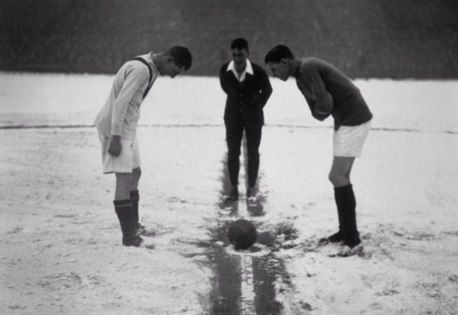 Clapton Orient in the snow