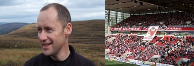 Graham Stephen - Aberdeen fan