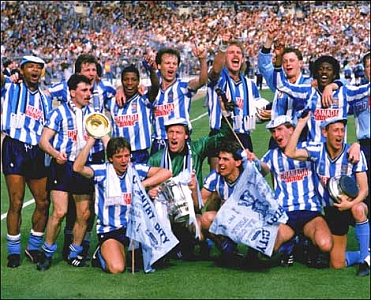 The 1987 FA Cup winning Coventry Squad