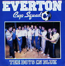 Everton Cup Squad 84 - The Boys In Blue