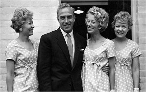 Billy Wright and the Beverley Sisters