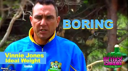 [Video] Attack Cardio With Vinnie Jones