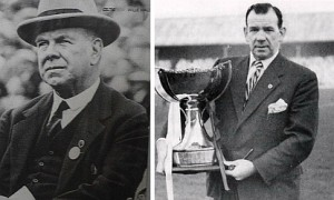 Willie Maley and Jimmy McGrory