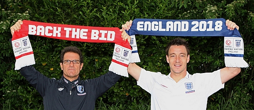 Capello and Terry - Back The Bid
