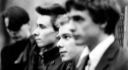 Paul Haig - 2nd from left - in the band Josef K