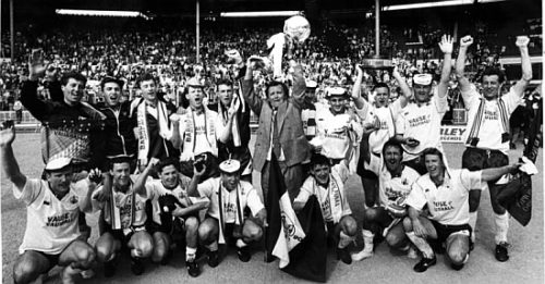 Barrow AFC - FA Trophy winners 1990