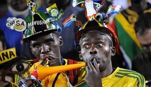 The Makarapa and the Vuvuzela