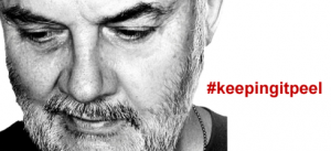 #keepingitpeel today