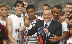Silvio with the trophy
