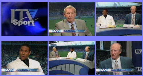 ITV's coverage of England v Holland at Euro 96