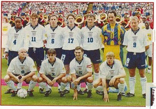England team - Euro 96