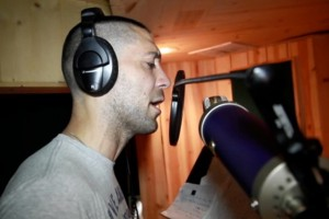 Clint Dempsey recording the new album at Skee Lodge Los Angeles