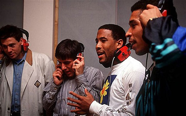 Recording the 1990 WC song