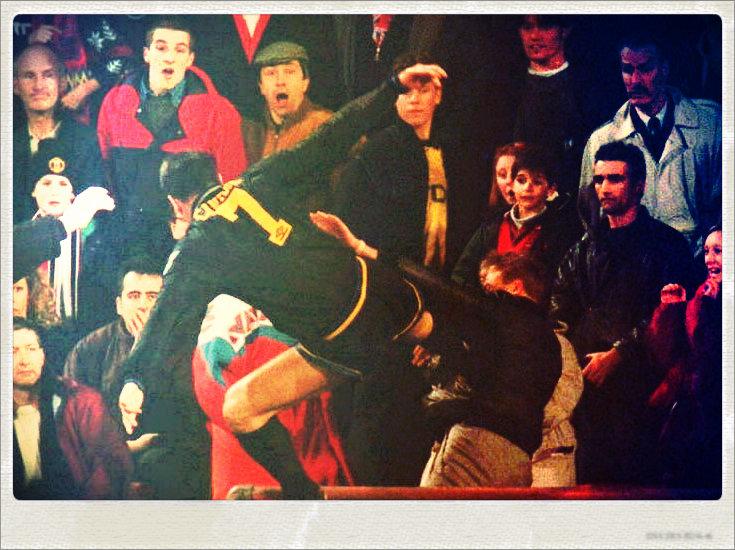 Cantona Kodak moment