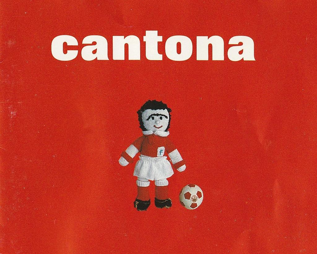 Cantona CD - front