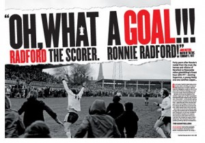 Ronnie Radford - Four Four Two article header