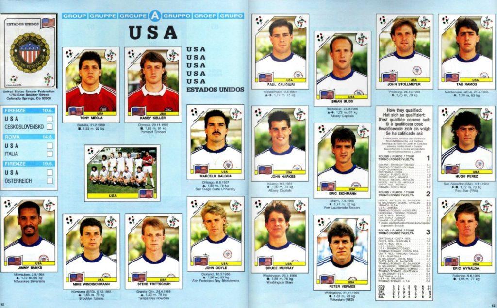 USA - Italia 90