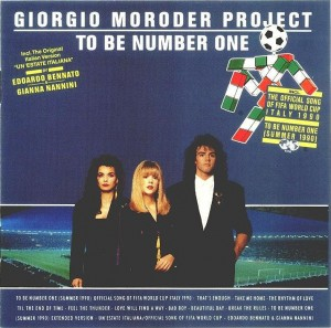 Giorgio Moroder - To Be Number One - album cover