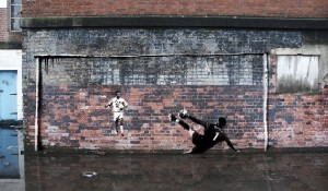 Football Graffiti