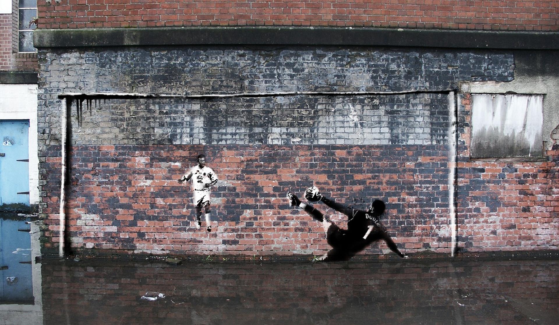 Football Graffiti