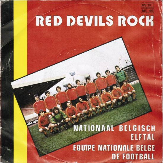 1980 Belgium team - Red Devils Rock