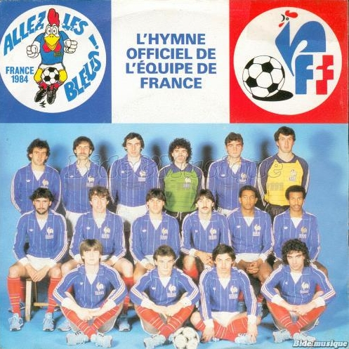 France - Allez Les Blues - 1984