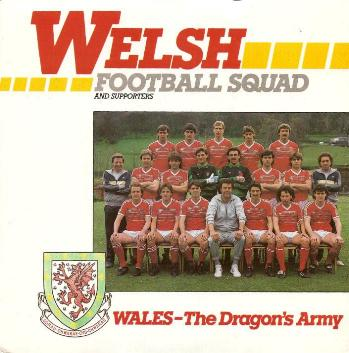 Welsh Football Squad And Supporters - Wales The Dragon's Army