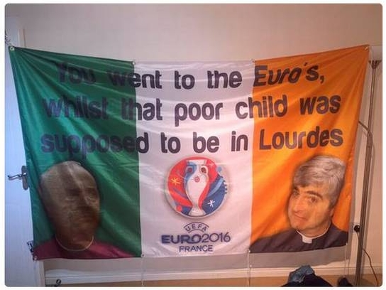 Father Ted - Ireland flag