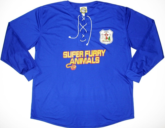 Cardiff City SFA sponsored shirt