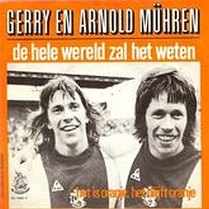 Gerrie and Arnold Muhren single - 1974