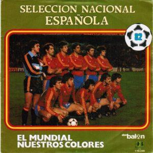 1982 Spain team