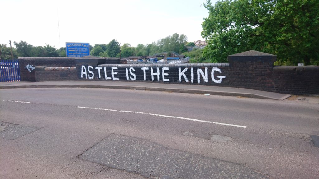 ASTLE IS THE KING