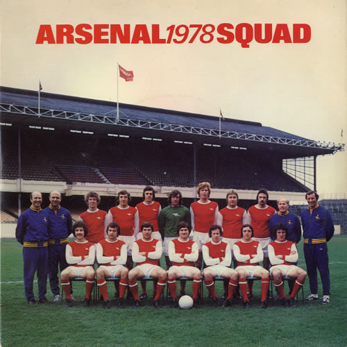 Arsenal 1978 Squad