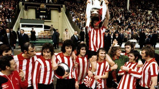 Sunderland 1973 FA Cup Final