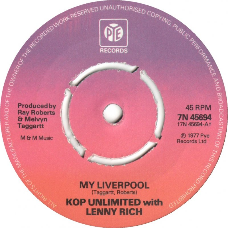 Kop Unlimited With Lenny Rich - My Liverpool