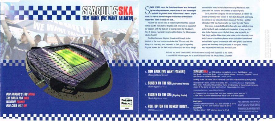 Seagulls Ska CD